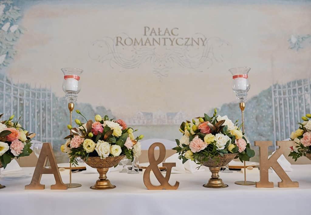 Ślub cywilny w plenerze oraz wesele w Pałacu Romantycznym. 006 romantyczny 5