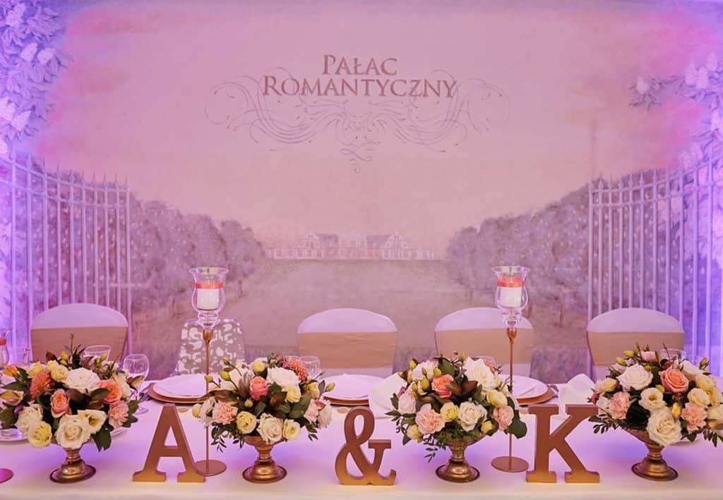 Ślub cywilny w plenerze oraz wesele w Pałacu Romantycznym. 013 romantyczny 1 25