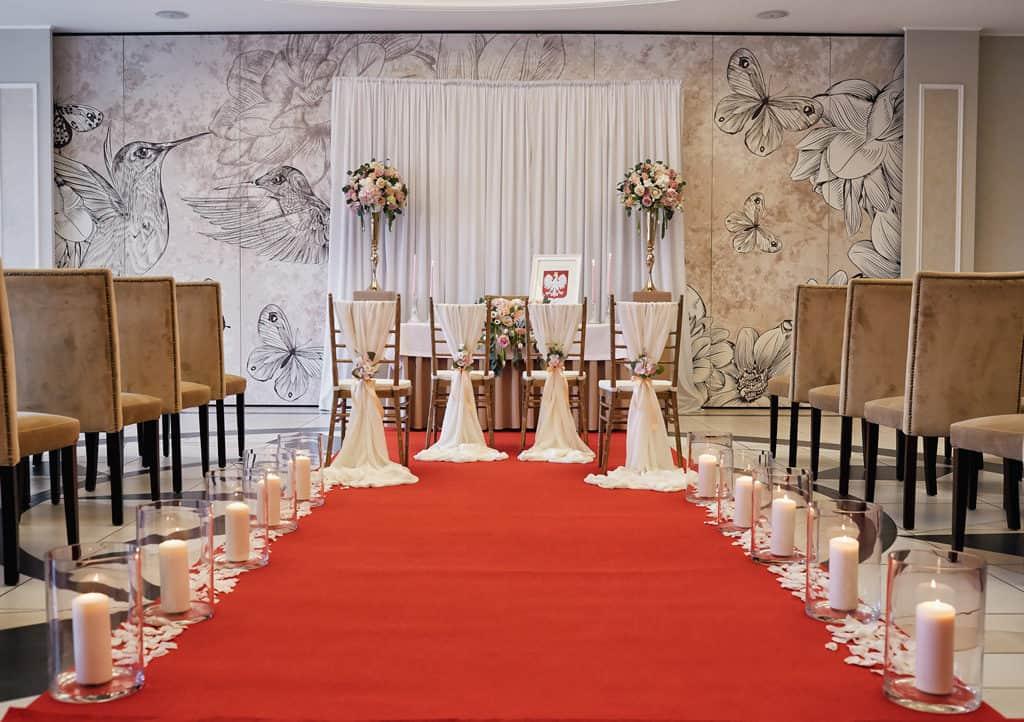 Ślub cywilny w hotelu Evita oraz eleganckie przyjęcie wesele. 019 evita 18