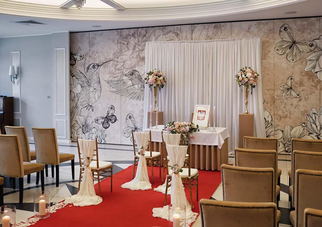 Ślub cywilny w hotelu Evita oraz eleganckie przyjęcie wesele. 020 evita 19