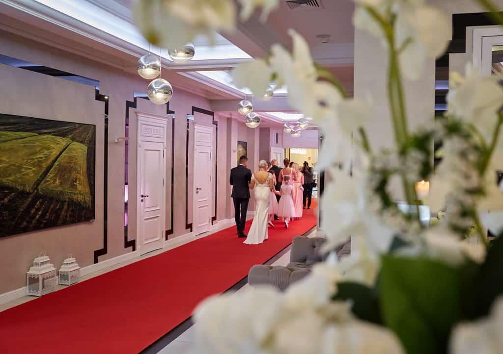 Ślub cywilny w hotelu Evita oraz eleganckie przyjęcie wesele. 021 evita 20