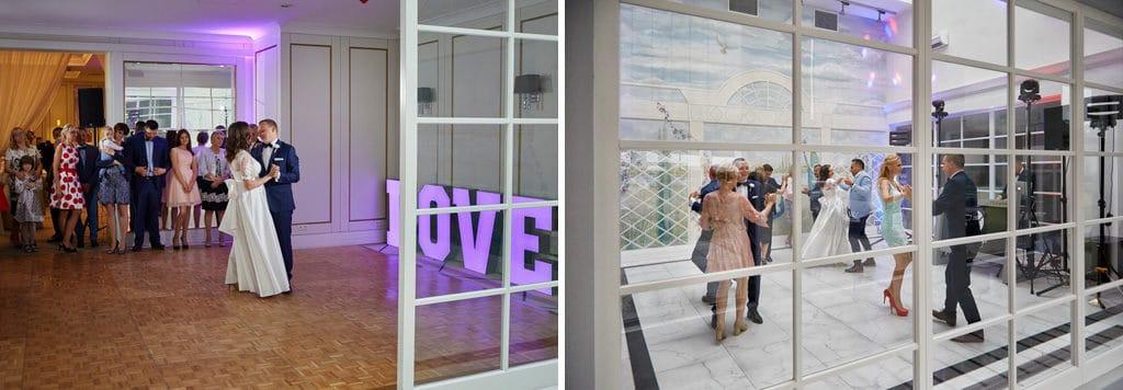 Ślub cywilny w plenerze oraz wesele w Pałacu Romantycznym. 026 romantyczny 18