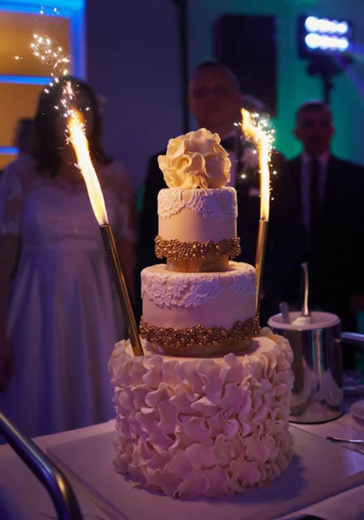Ślub cywilny w plenerze oraz wesele w Pałacu Romantycznym. 028 romantyczny 20