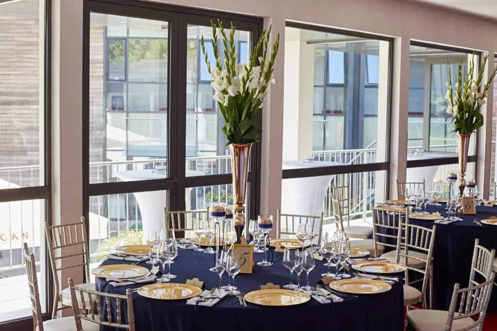 Eleganckie wesele z motywem marynistycznym. marina015 14