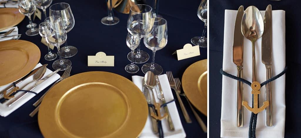 Eleganckie wesele z motywem marynistycznym. marina017 16