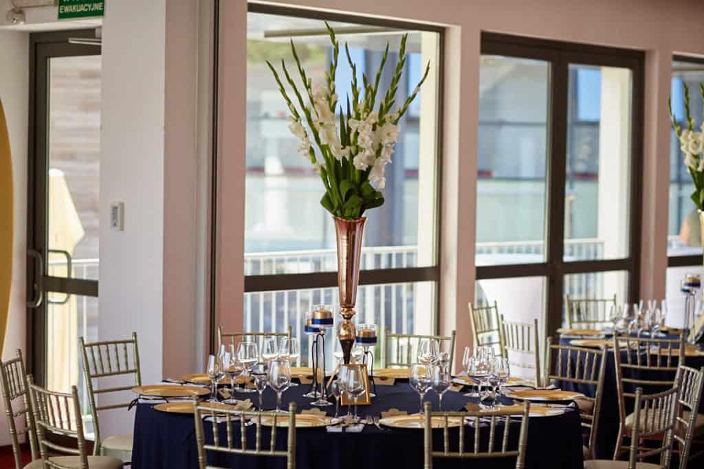 Eleganckie wesele z motywem marynistycznym. marina021 20