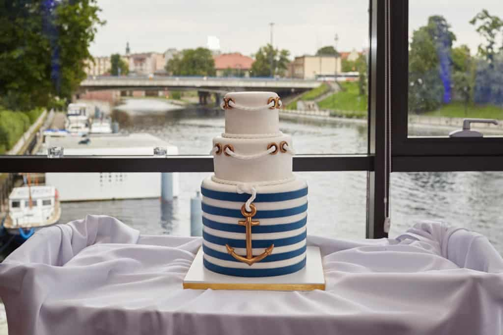 Eleganckie wesele z motywem marynistycznym. marina025 24