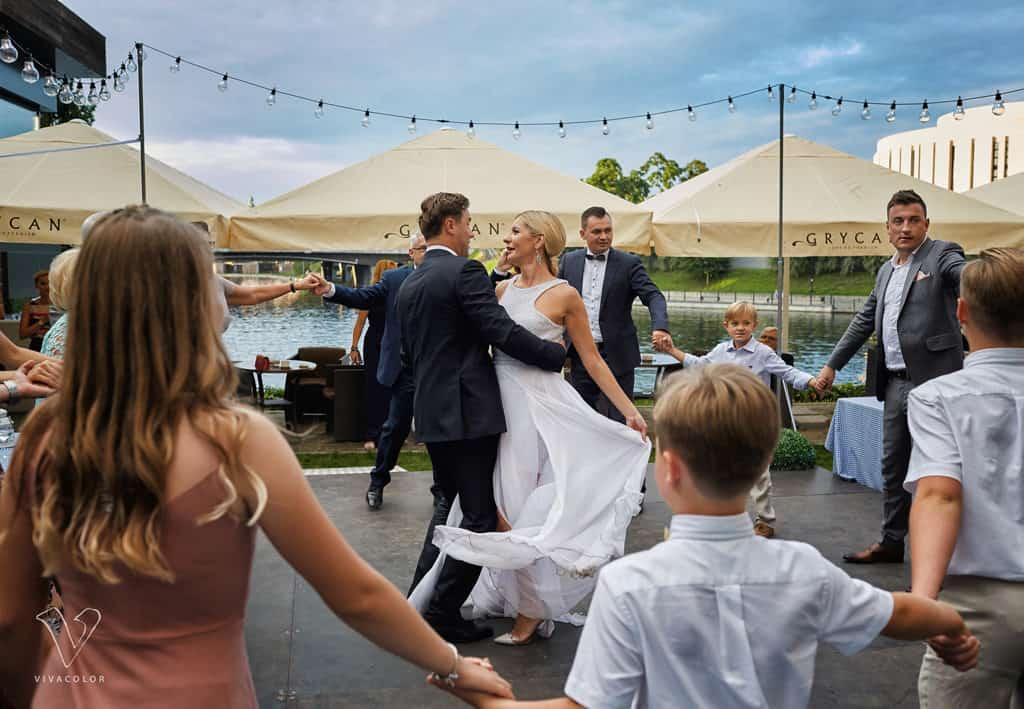 Eleganckie wesele z motywem marynistycznym. marina027 26