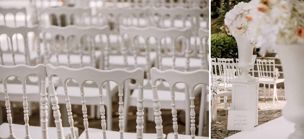 Plenerowy ślub kościelny w Pałacu Romantycznym 004 romantycznylavinci 7