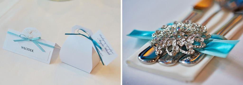 Ślub w Bydgoskiej Farze, uroczystość w kolorach Tiffany Blue na weselu w Słonecznym Młynie. 025s onecznym yn 25